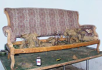 Как избавиться от клопов из дивана