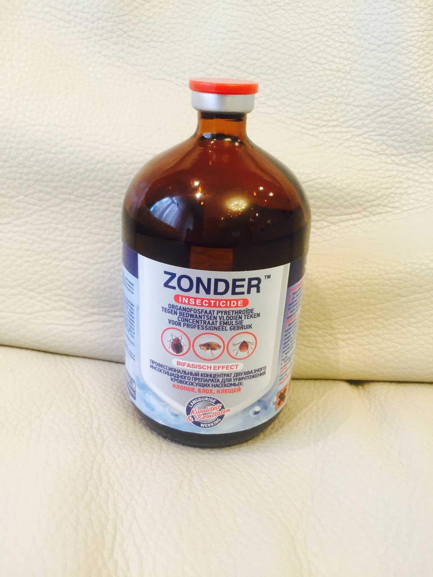 Бутыль средства от клопов Зондер